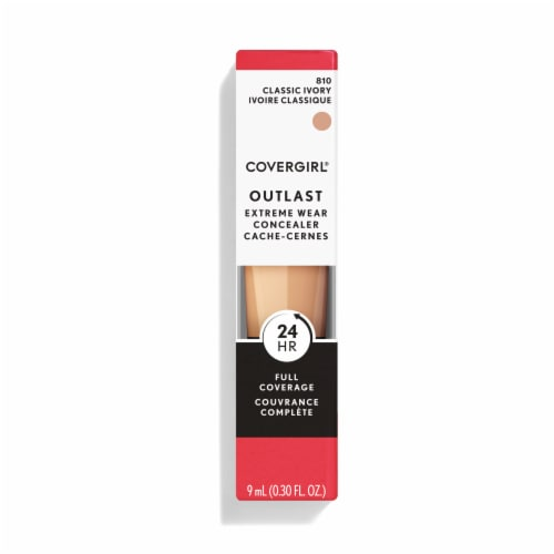 CoverGirl Outlast 810 Classic Ivory Extreme Wear Concealer Perspective: front