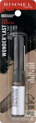 Rimmel Wonder'Last 003 Medium Brown Brow Tint Perspective: front