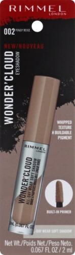 Rimmel Wonder'Cloud 002 Foggy Beige Eyeshadow Perspective: front