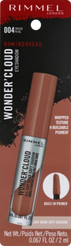 Rimmel Wonder'Cloud 004 Spiced Petal Eyeshadow Perspective: front