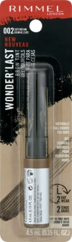 Rimmel Wonder'Last 002 Soft Brown Brow Tint Perspective: front
