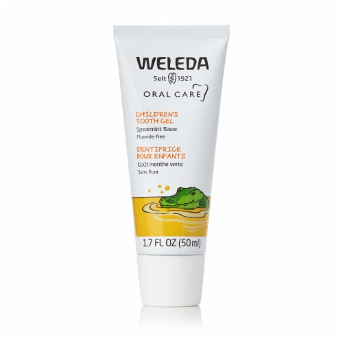 Weleda Child Toothpaste Gel Perspective: front