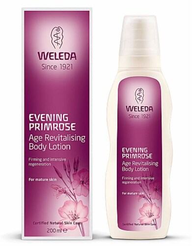 Weleda Evening Primrose Age Revitializing Body Lotion Perspective: front