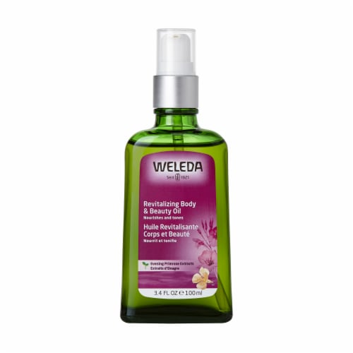Weleda Revitalizing Body & Beauty Oil Perspective: front