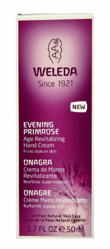 Weleda Evening Primrose Age Revitalizing Hand Cream Perspective: front