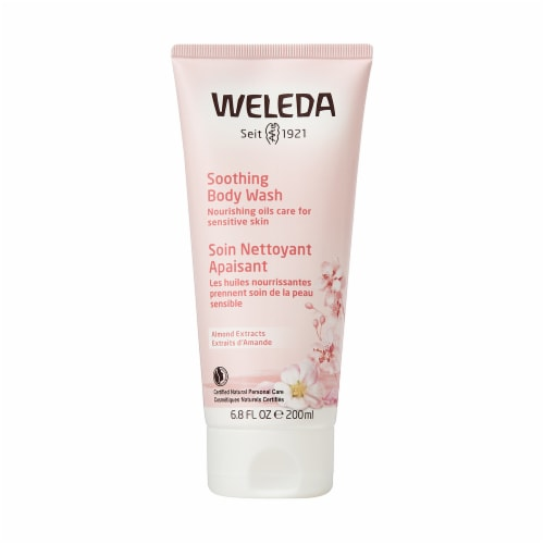 Weleda Body Wash Almond Sensitive Skin Perspective: front