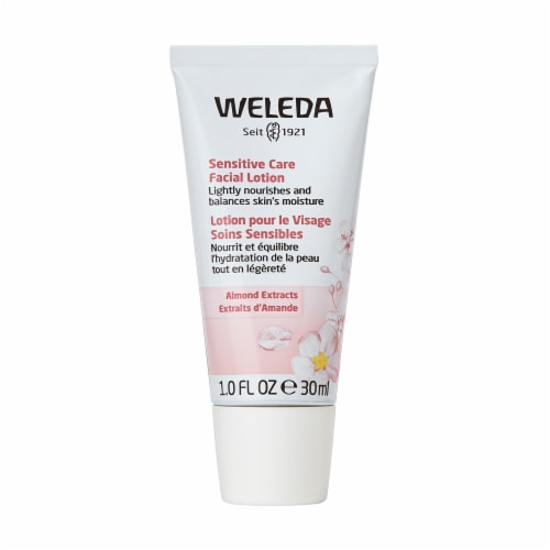 Weleda Almond Extract Sensitive Care Facial Lotion Perspective: front