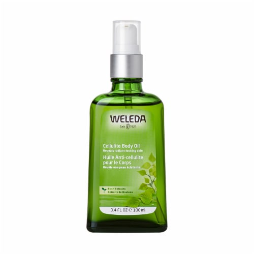 Weleda Birch Cellulite Body Oil Perspective: front