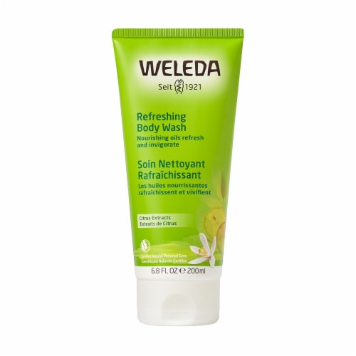 Weleda Citrus Extracts Refreshing Body Wash Perspective: front