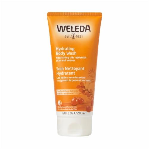 Weleda Creamy Body Wash Sea Buckthorn Perspective: front