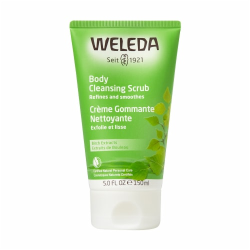 Weleda Birch Body Cleansing Scrub Perspective: front