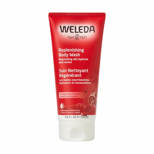 Weleda Pomegranate Extracts Replenishing Body Wash Perspective: front