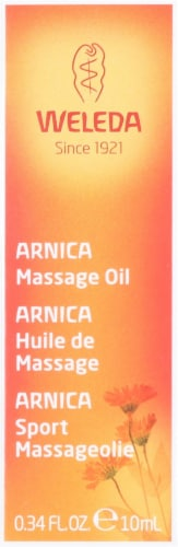 Weleda  Arnica Massage Oil Trial Size Perspective: front