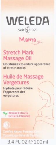Weleda Stretch Mark Massage Oil Perspective: front