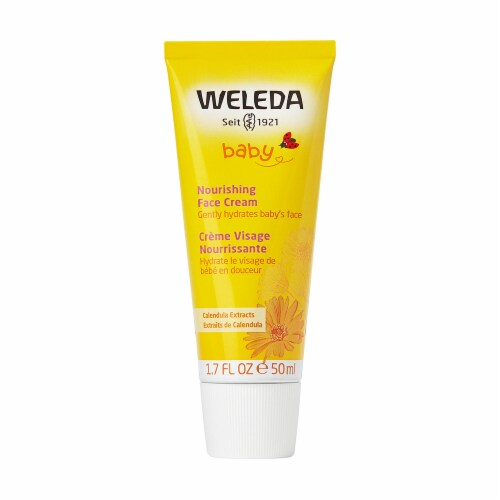 Weleda  Baby Calendula Face Cream Perspective: front