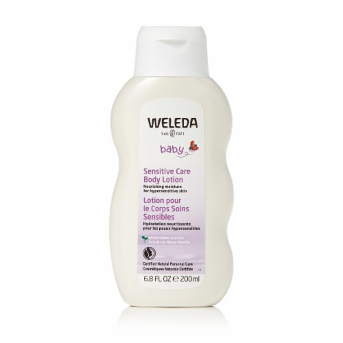 Weleda Baby Sensitive Care Body Lotion Perspective: front