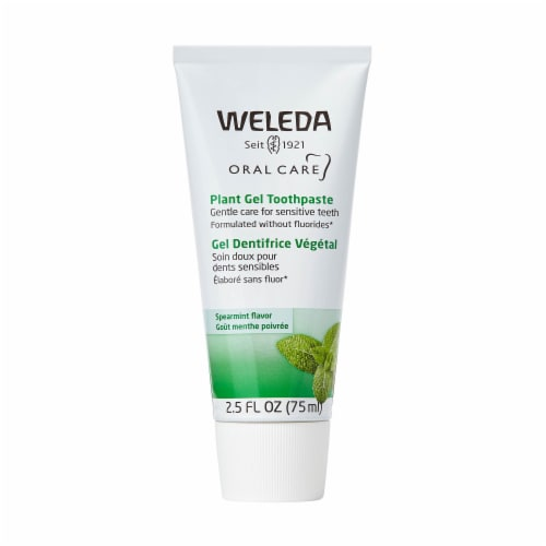Weleda Spearmint Plant Gel Toothpaste Perspective: front