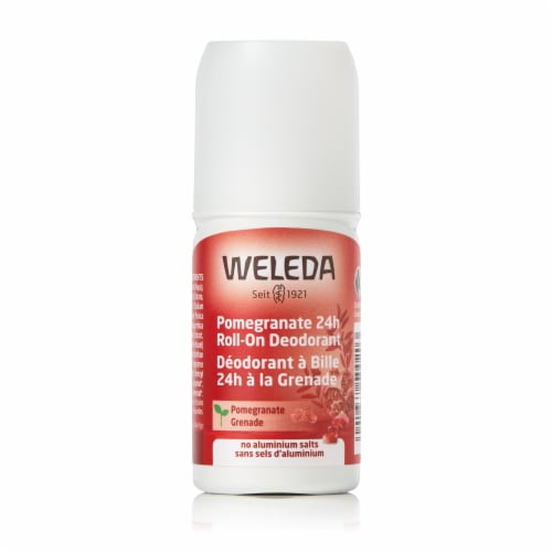 Weleda Pomegranate 24h Roll-On Deodorant Perspective: front