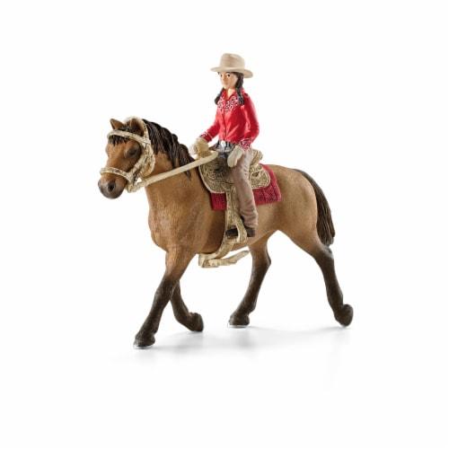 Schleich Western Rider Toy Perspective: front