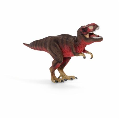 Schleich Tyrannosaurus Rex Dinosaur Figure Perspective: front