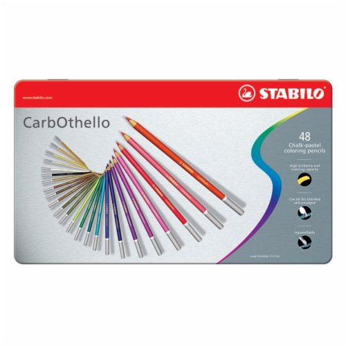 Stabilo CarbOthello Chalk-Pastel Pencil Set Perspective: front