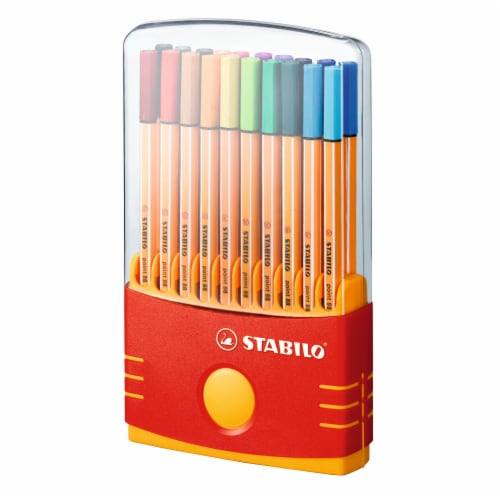 Stabilo Fine-Point Non-Smudging Pen Set Perspective: front