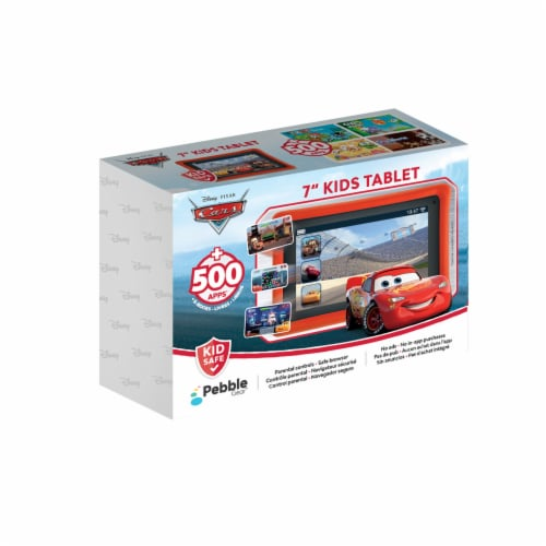 Pebble Gear™ Cars Kids Tablet Perspective: front