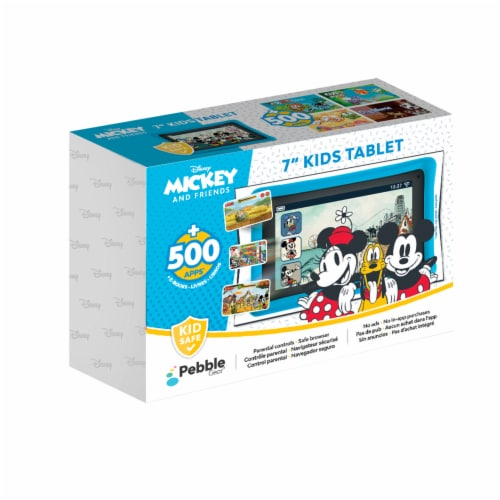 Pebble Gear™ Mickey and Friends Kids Tablet Perspective: front