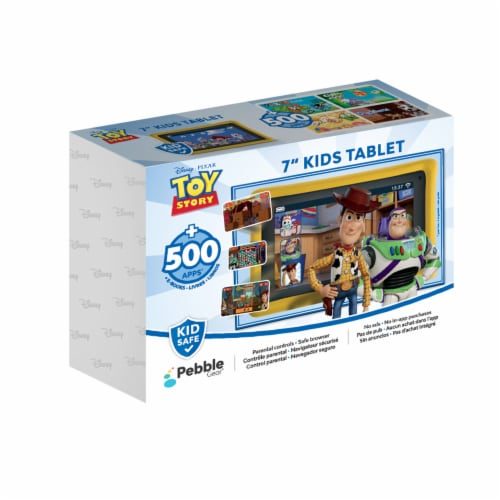 Pebble Gear™ Toy Story Kids Tablet Perspective: front