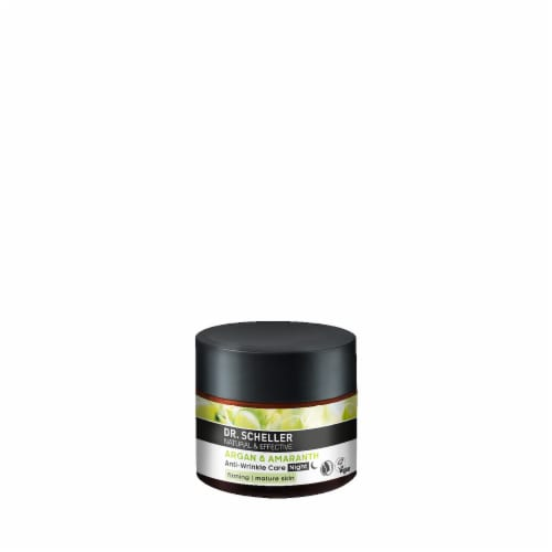 Dr. Scheller Argan & Amaranth Anti-Wrinkle Care Night Cream Perspective: front