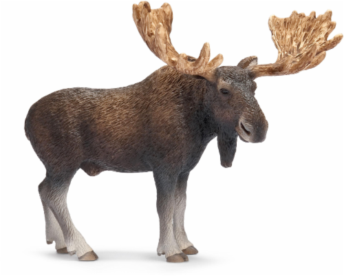 Schleich Bull Moose Figure Perspective: front