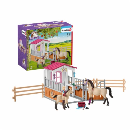 Schleich Horse Club Playset Perspective: front