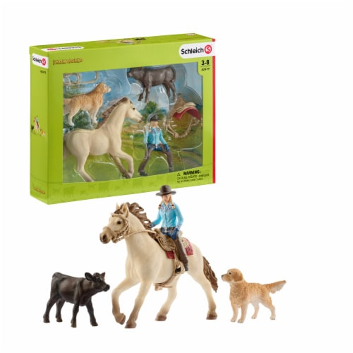 Schleich Western Riding Set Perspective: front