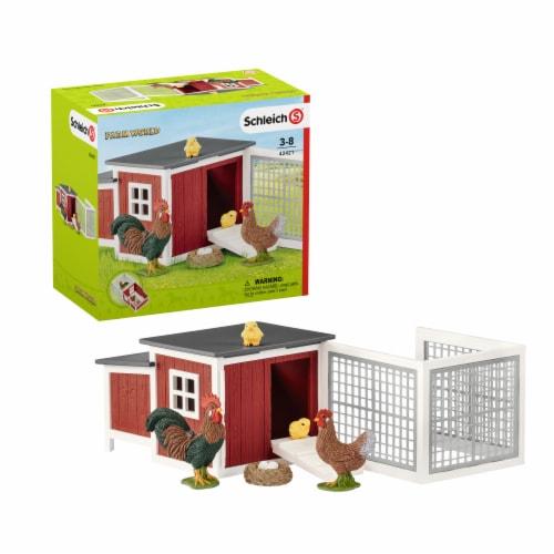 Schleich Chicken Coop Play Set Perspective: front