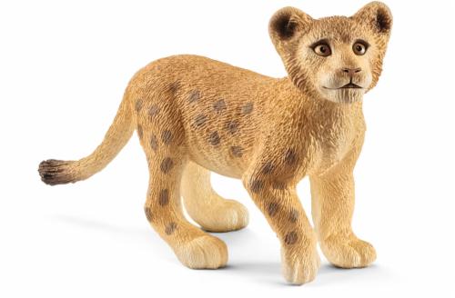 Schleich Lion Cub Figurine Perspective: front
