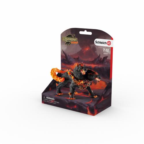 Schleich Eldrador Creatures Hellhound Figurine Perspective: front