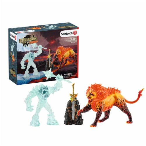 Schleich Battle for the Super Weapon Playset Perspective: front
