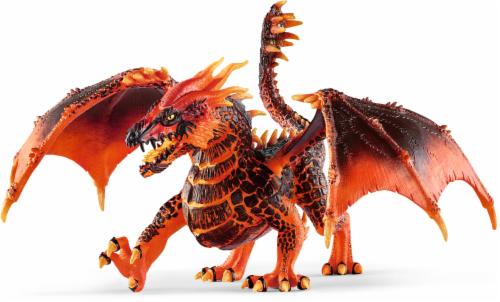 Schleich Eldrador Creatures Lava Dragon Figurine Perspective: front