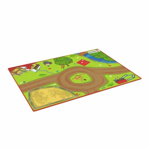 Schleich Farm World Playmat Perspective: front