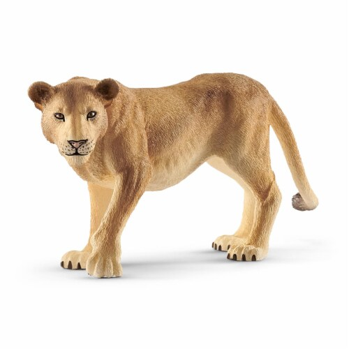 Schleich Lioness Figure Perspective: front