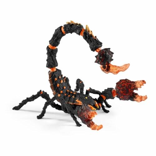 Schleich Eldrador Lava Scorpion Figure Perspective: front