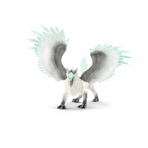 Schleich Eldrador Ice Griffin Toy Perspective: front
