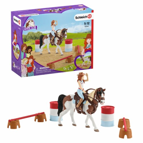 Schleich Horse Club Hannah's Western Riding Set Perspective: front
