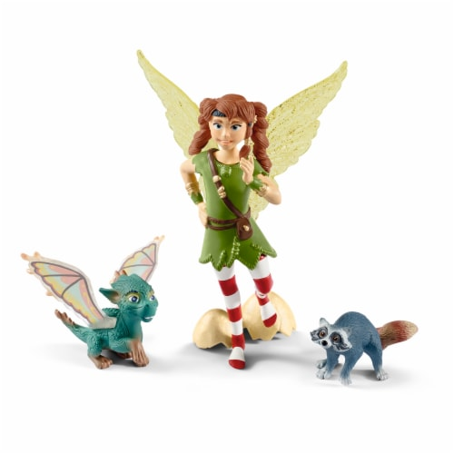 Schleich Bayala Marween with Nugur & Piuh Figurines Perspective: front