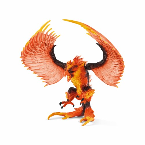 Schleich Fire Eagle Toy Perspective: front