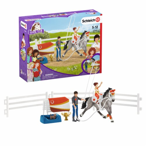 Schleich Horse Club Mia's Vaulting Set Perspective: front