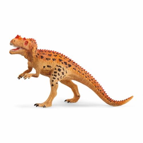 Schleich Ceratosaurus Dinosaur Perspective: front