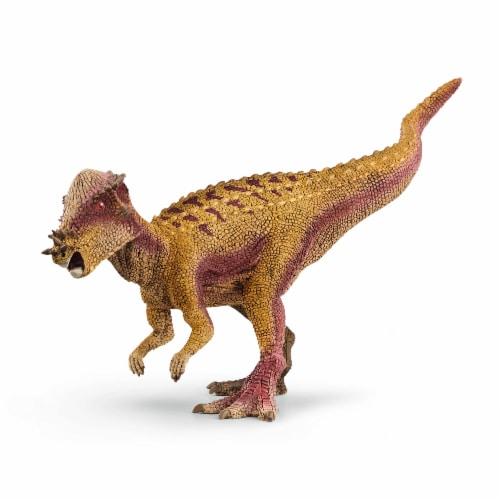 Schleich Pachycephalosaurus Dinosaur Perspective: front