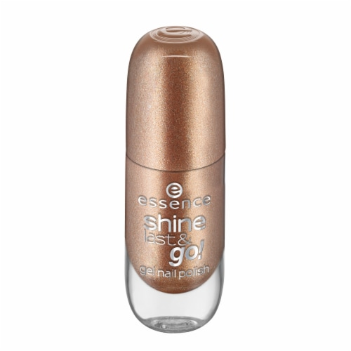 Essence Shine Last & Go! 33 Wild White Ways Gel Nail Polish Perspective: front