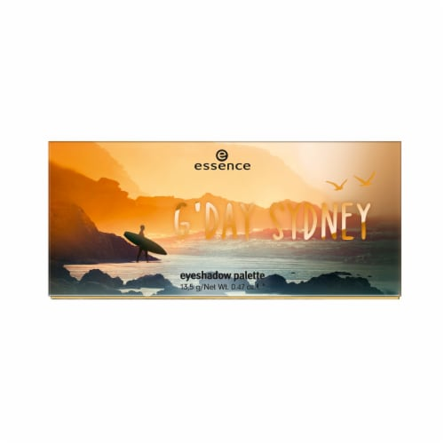 Essence G'Day Sydney Eyeshadow Palette Perspective: front